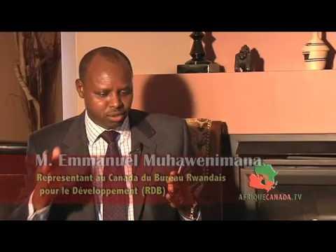 Emmanuel Muhawenimana Bureau Rwandais pour le Développement section Canada