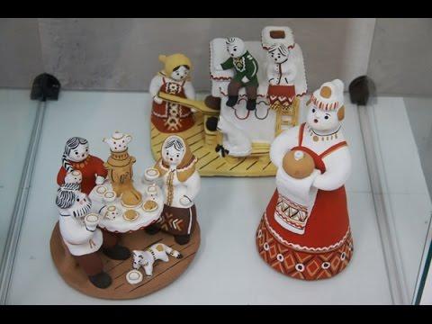 Народная игрушка из глины своими руками
