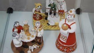 Как на Руси, делали игрушки из глины