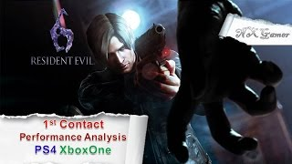 Resident Evil 6: 1st Contact Performance Analysis PS4 XboxOne