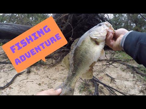BANK FISHING AT LAKE O' THE PINES DAM