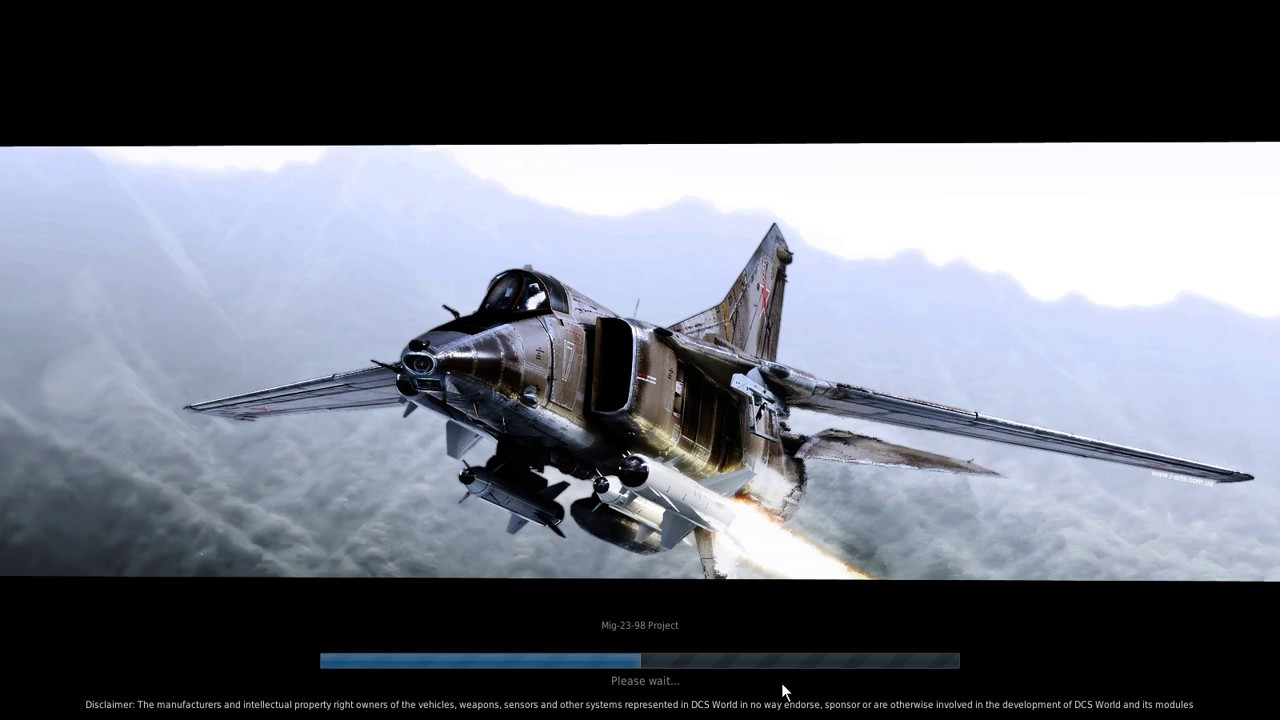DCS WORLD 1 5 Mig-23-98 Project,Theme,Arming screen,Loading screen