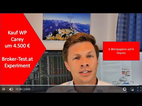 5.619 € für WP Carey und Pembina Pipeline Investment 💶 Das Experiment Teil 9 - Broker-Test.at