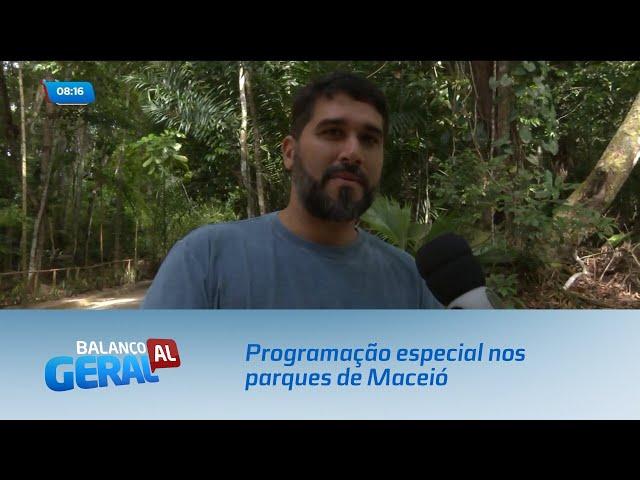 'Oxente, Relaxe': Programação especial nos parques de Maceió