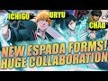 HUGE Bleach Brave Souls Collaboration! + Fullbring Ichigo, Chad, And Uryu Are Coming!