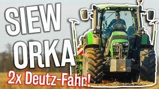 Orka i Siew 2018 ☆ 2x Deutz-Fahr, Amazone ☆ Lubelskie ㋡