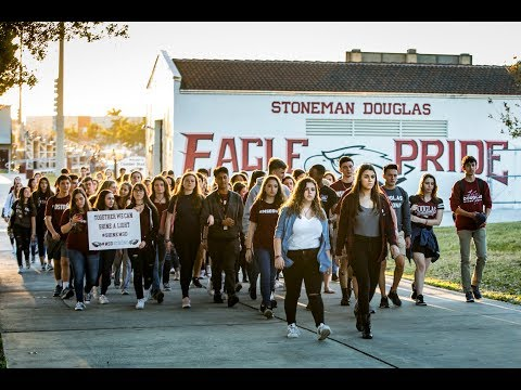 Shine by Sawyer Garrity & Andrea Peña ft. Stoneman Douglas Drama (Official Music Video)