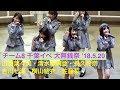 2018.05.20 チーム8(Team8) 「IDOL CONTENT EXPO 大無銭祭」(千葉・イオンモール幕張…