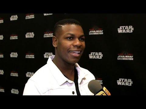 John Boyega at 'Star Wars Celebration' - Full Interview!