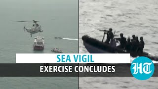 Watch: 2-day defence exercise 'Sea Vigil' tests India's maritime preparedness