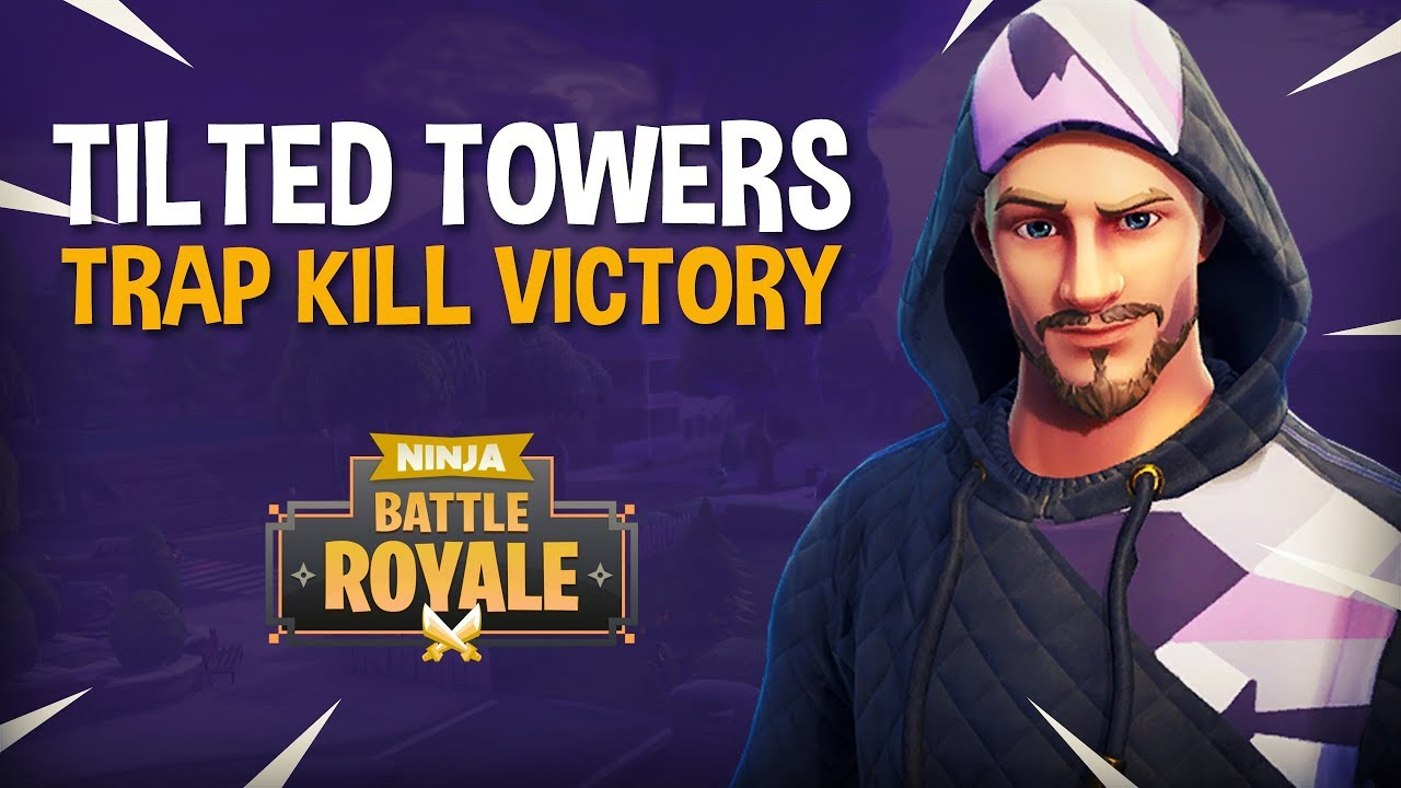 Tilted Towers: Trap Kill Victory!! - Fortnite Battle Royale Gameplay - Ninja & KingRichard