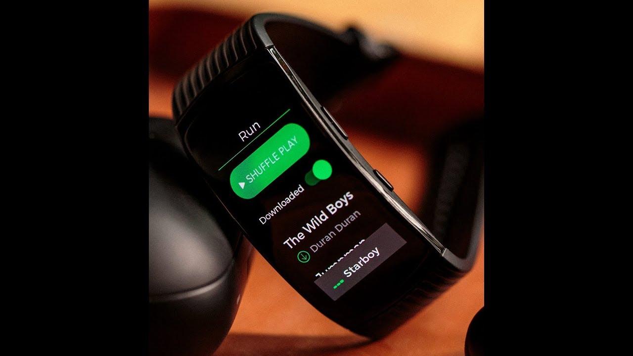 Gear Fit 2 Pro Spotify