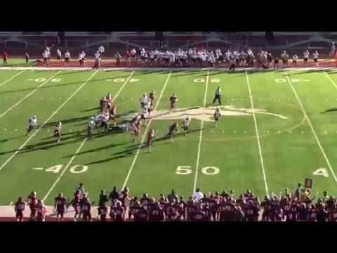 Morningside College vs Northwestern College Big Play