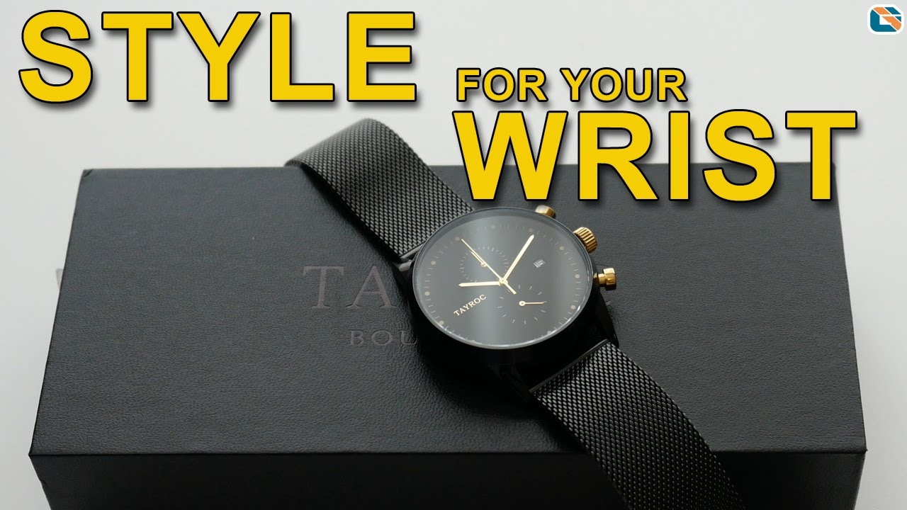 Tayroc black and gold watcj. Excellent service from tayroc again. Ordered watch and received within 3 days. Also given 20% reduction for giving earlier review.