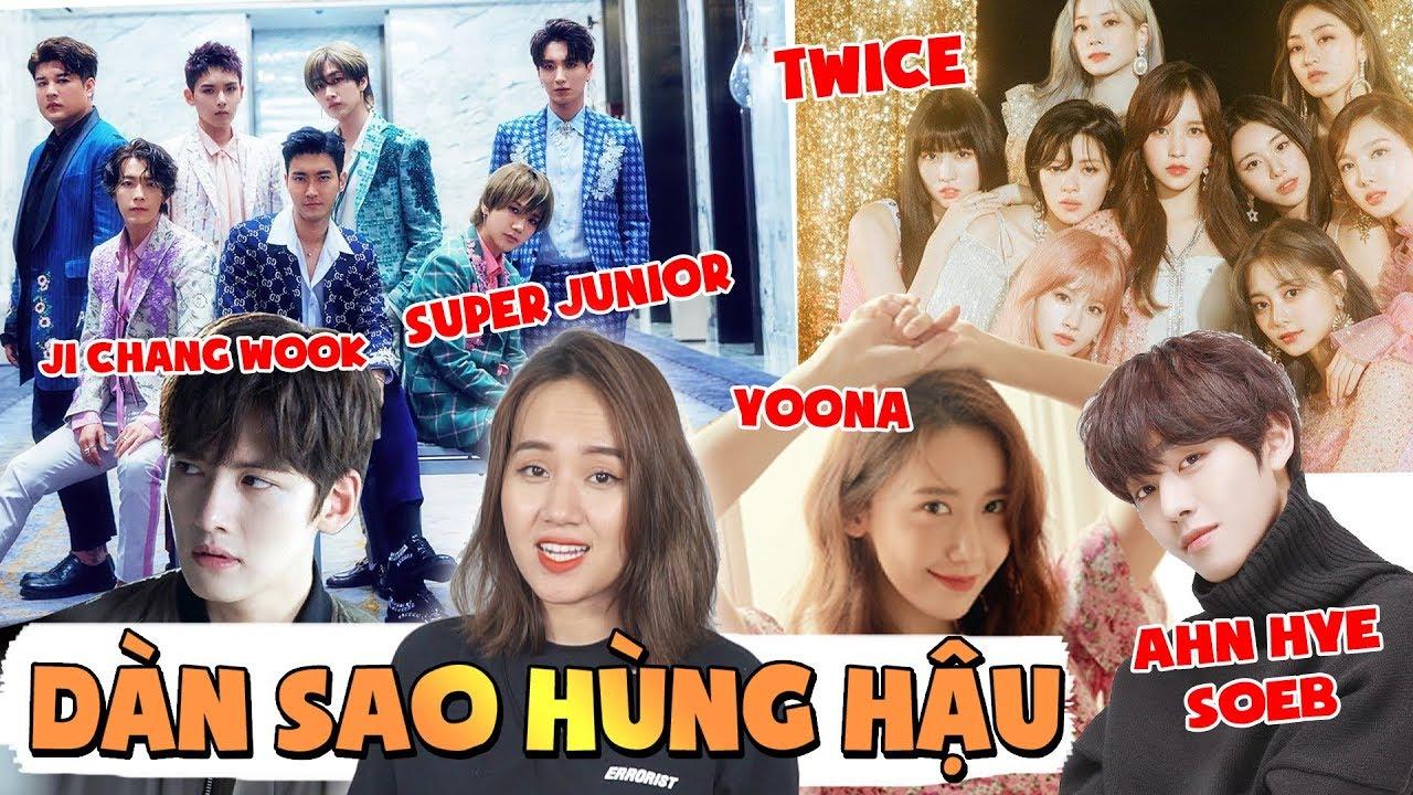 Toàn bộ Line up khủng AAA 2019 : Chưa bao giờ sao Hàn đến VN nhiều như vậy !