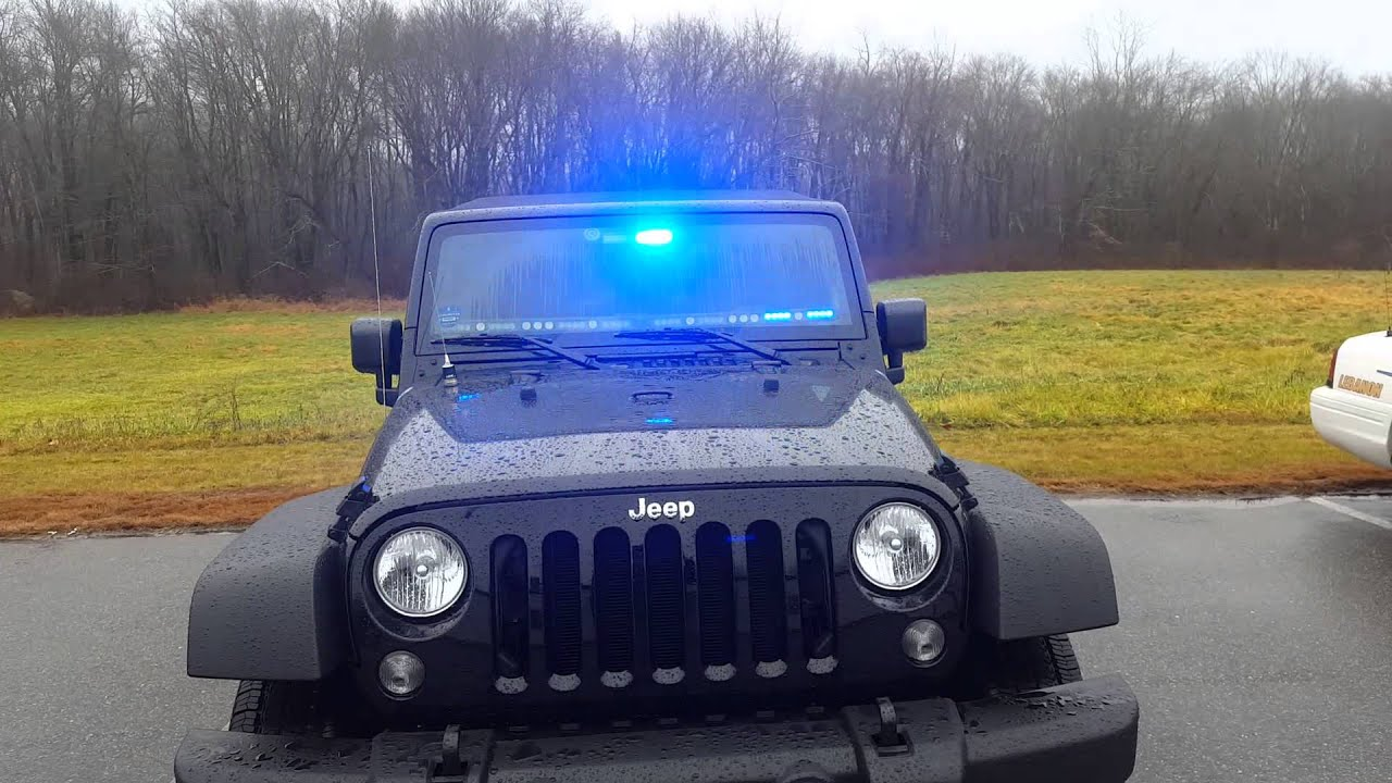 2016 Jeep Wrangler Emergency Lights Firefighter Emt Pov