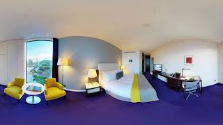 Stay at The Marker Hotel: 360° view of our Deluxe King Bedroom