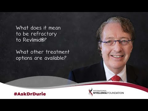 What does it mean to be refractory to Revlimid®? What other treatment options are available?