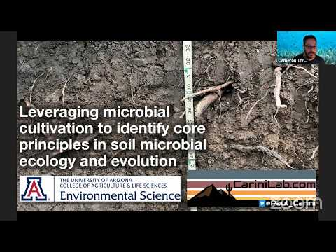 Soil Microbiology Webinar - Dr. Paul Carini