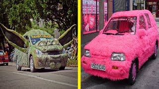 The Most Creative and Unusual Cars Around the World