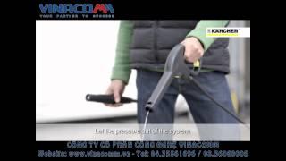 Hướng dẫn sử dụng bảo dưỡng máy rửa xe Karcher K4 600