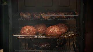 Food Smoker Recipes - Smoky Beerlicious Prime Rib Burgers By Bradley Smoker