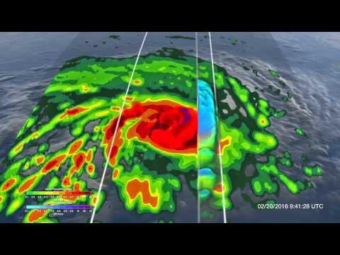 NASA | GPM Analyzes Powerful Tropical Cyclone Winston over Fiji