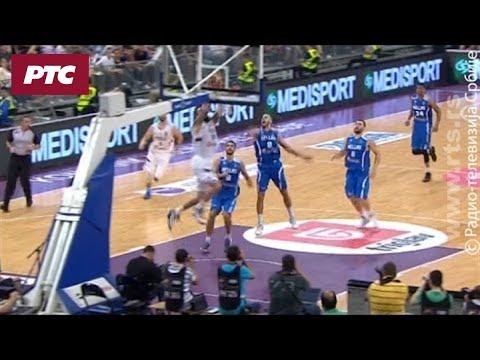 Košarka Srbija Grčka Zakucavanje Raduljice