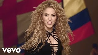 shakira   la la la  brazil 2014  ft  carlinhos brown