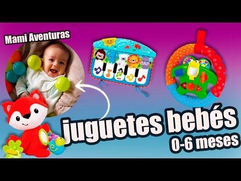 Juguetes para bebs de 0 a 6 meses  Doovi