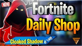 Fortnite Daily Shop *NEW* CLOAKED SHADOW SKIN (28 Dezember 2018)