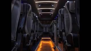 [HD] ชมภายในห้องโดยสาร รถบัสเช่า ภัสสรชัยทัวร์