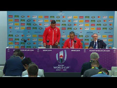 Tonga post-match press conference | England v Tonga