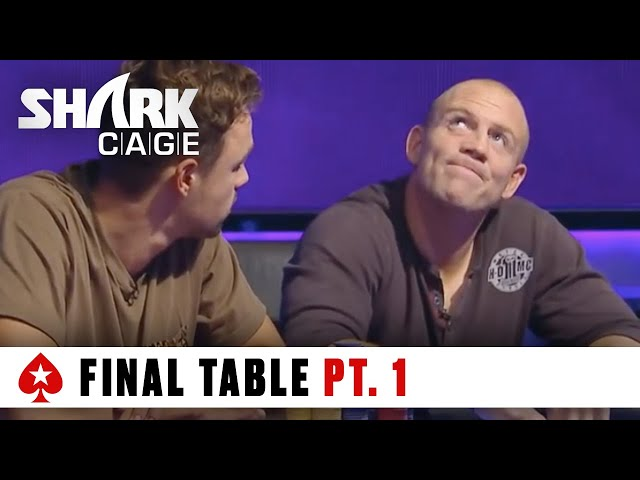 Shark Cage - Episode Final Table Part 1 | PokerStars