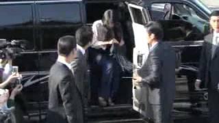 2010.05.02 眾韓星出席【張東健婚禮】下車畫面