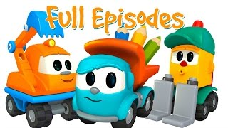 leo the truck full episodes 3 truck cartoon car cartoon on firsttoons leo truck cartoon