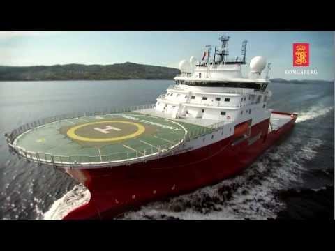 Kongsberg Maritime delivery to Fugro Symphony