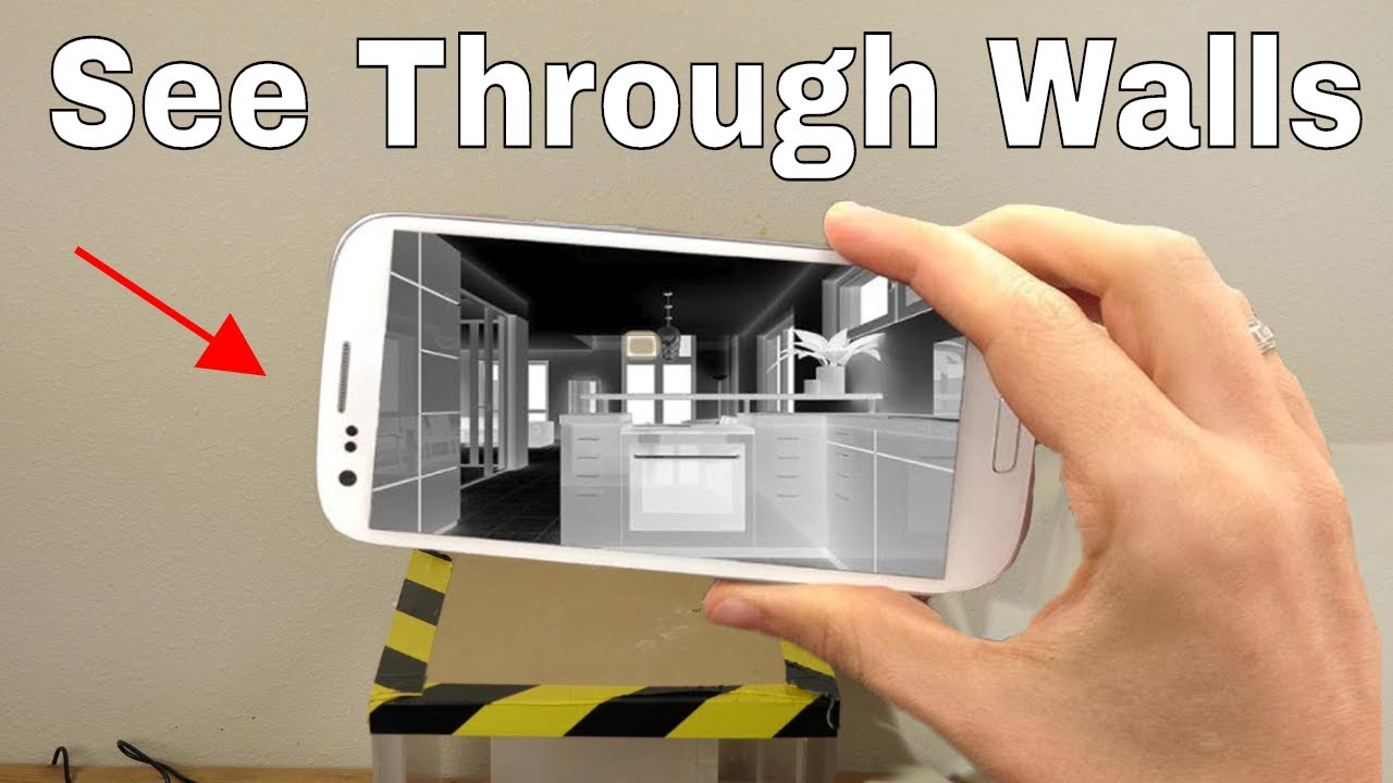 how to use your smartphone to see through walls superman s x ray vision challenge [ 1280 x 720 Pixel ]