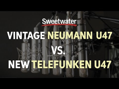 Vintage Neumann U47 vs. New Telefunken U47 Mic Comparison