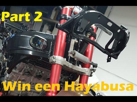 Download Win Actie Suzuki Hayabusa DriftBike Buildseries Part 2 (Voorvork keerringen vervangen)