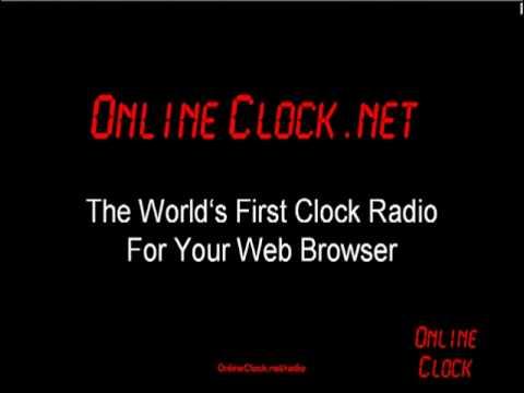 Clock Radio Online - OnlineClock.net/radio