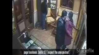 سرقة محل للمجوهرات في الجزائر دالي ابراهيم