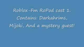 Roblox-Fm - RoPod Cast 1