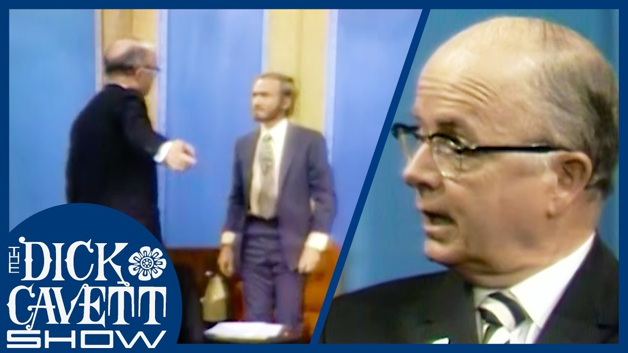 Gov Lester Maddox Storms Off The Dick Cavett Show After Losing Debate On Race In U.S.A 1970