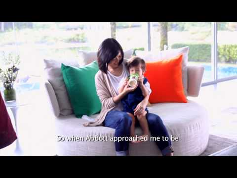 Find out why Stefanie Sun trusts Similac Gain for her son!