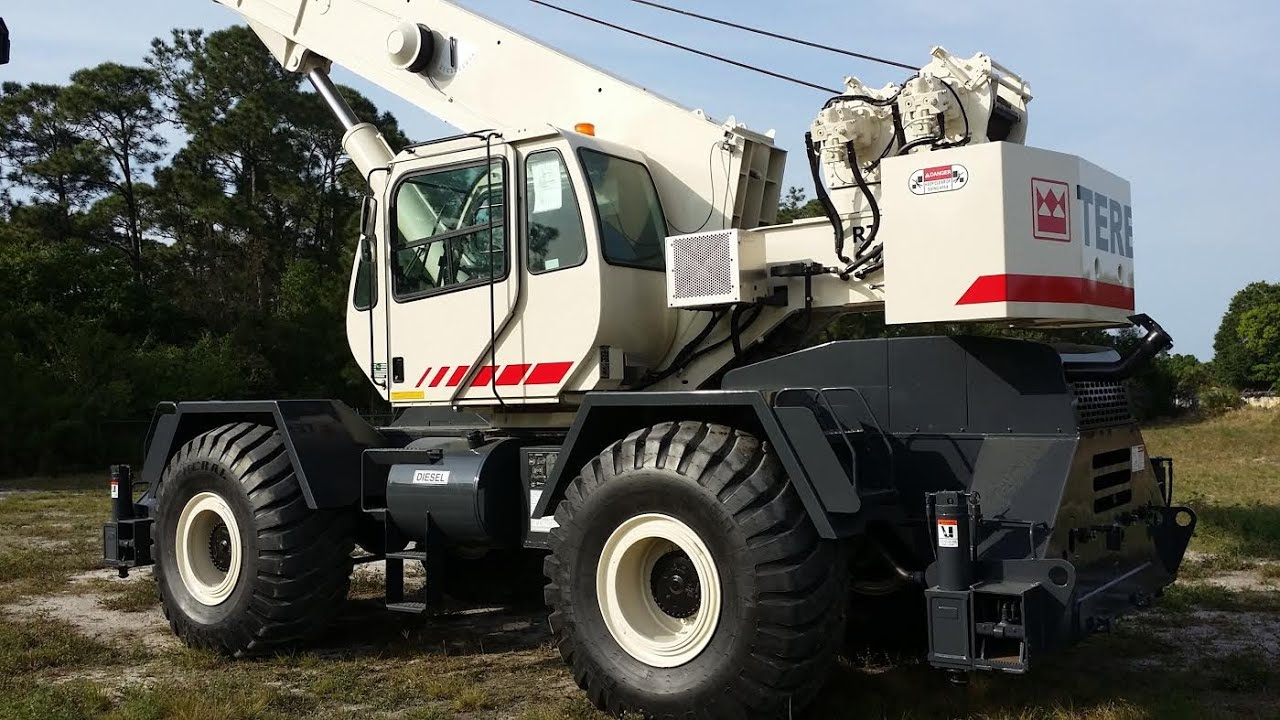 Royal Crane 2009 Terex RT555 -1 $209,500 55 ton for sale Florida