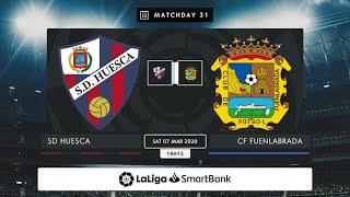 SD Huesca CF Fuenlabrada MD31 S1815