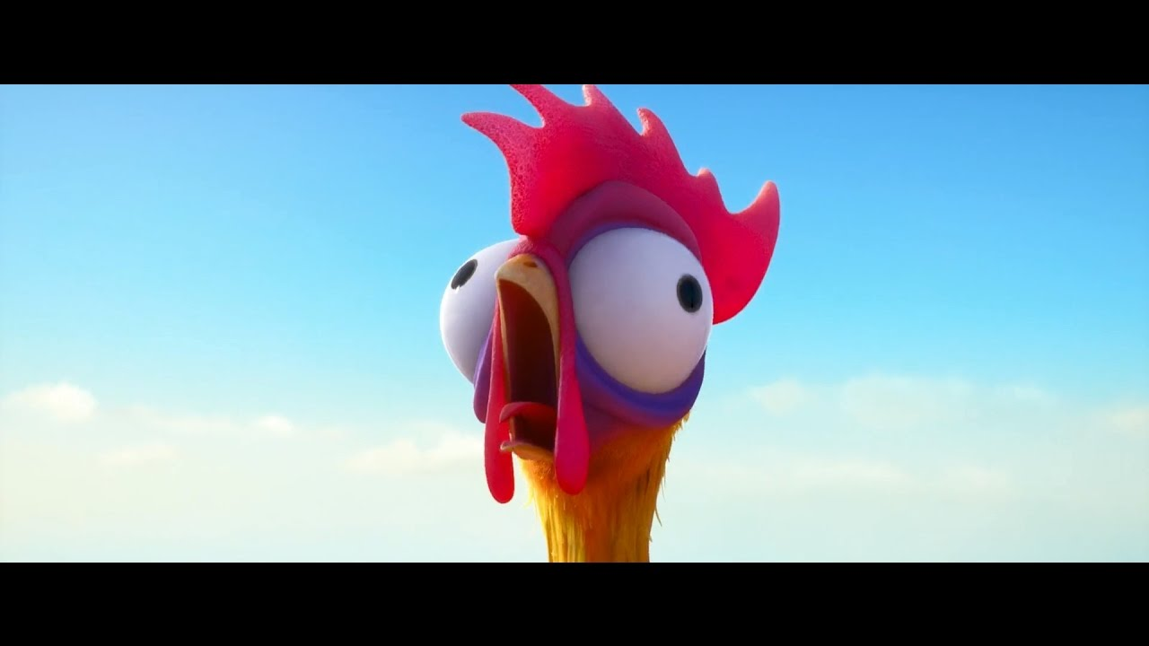 Chicken And The Pig Meme: Moana (HD, 2016). The Chicken Is A Chicken