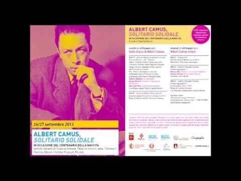 ALBERT CAMUS - Solitario Solidale (parte 1)
