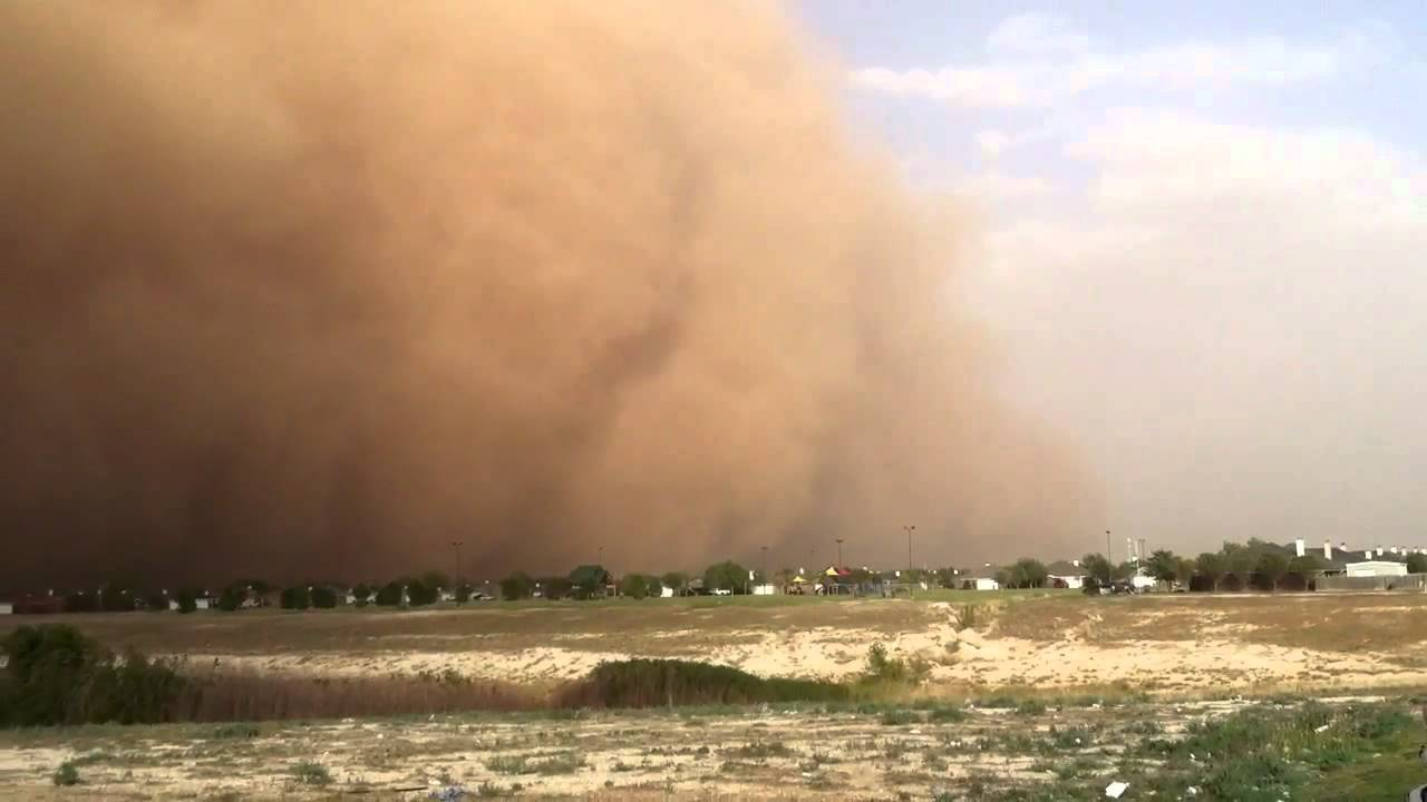 Fast Moving Haboob Through Lubbock Texas Youtube